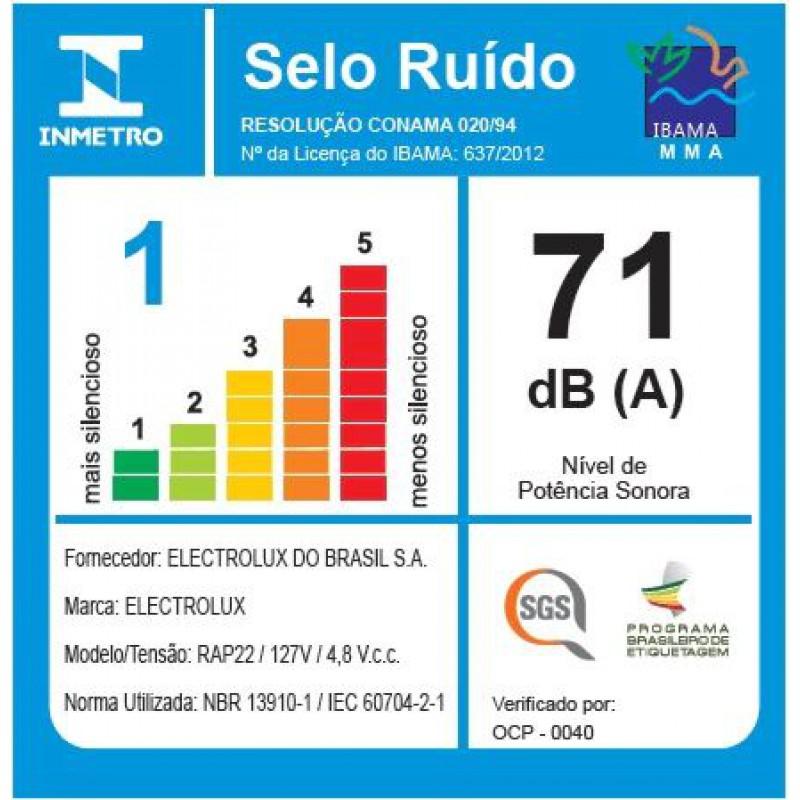 Aspirador de Água e Pó Portátil Rapido Electrolux (RAP22)