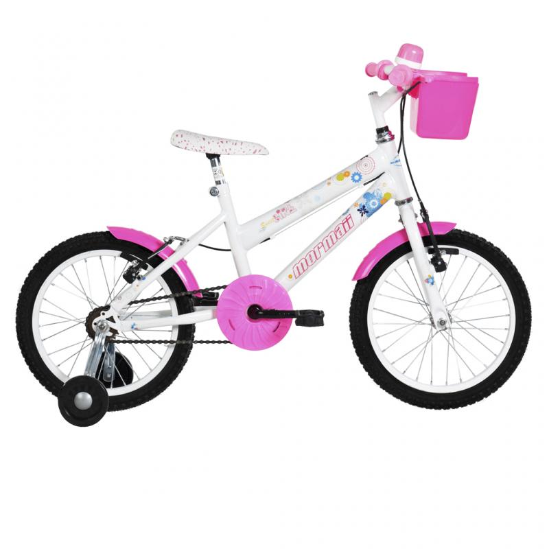 Bicicleta Mormaii Aro 16 Sweet Girl Branca - 20117...