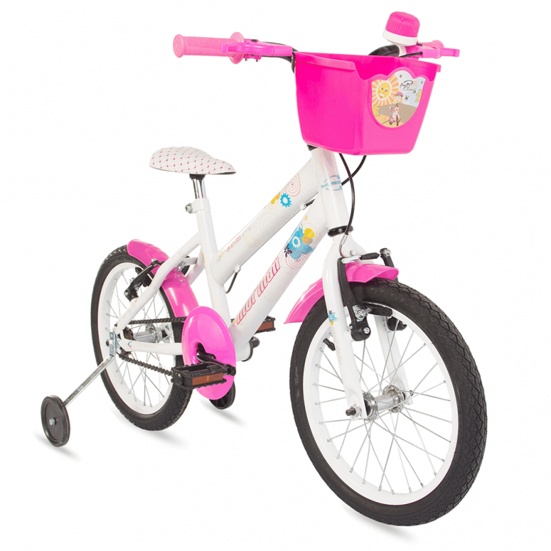 Bicicleta Mormaii Aro 16 Sweet Girl Branca - 2011797 - Mormaii
