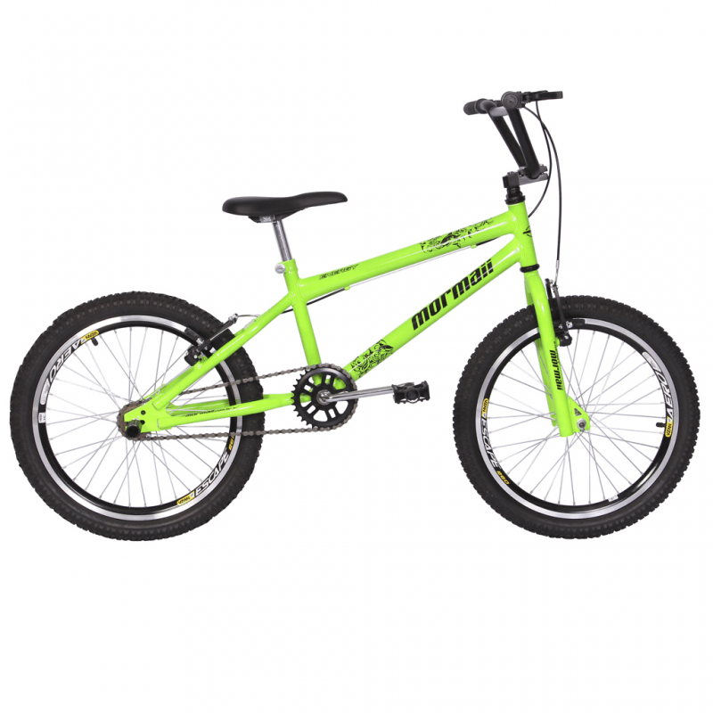 Bicicleta Mormaii Aro 20 Cross Energy Verde Neon -...