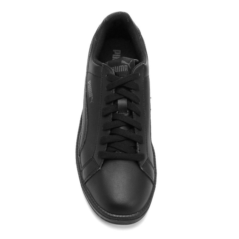 Tênis Puma Smash L Black Dark Shadow - Preto