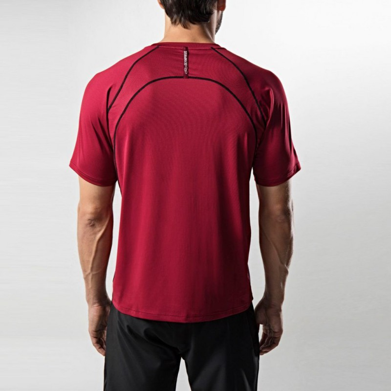 Camiseta Olympikus Action Masculino - Red Velvet