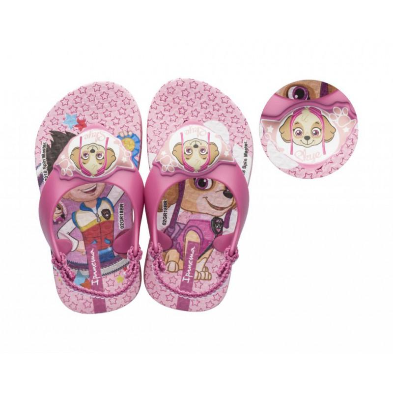 Chinelo Ipanema Patrulha Canina Baby - Rosa Baby/Rosa (26124)