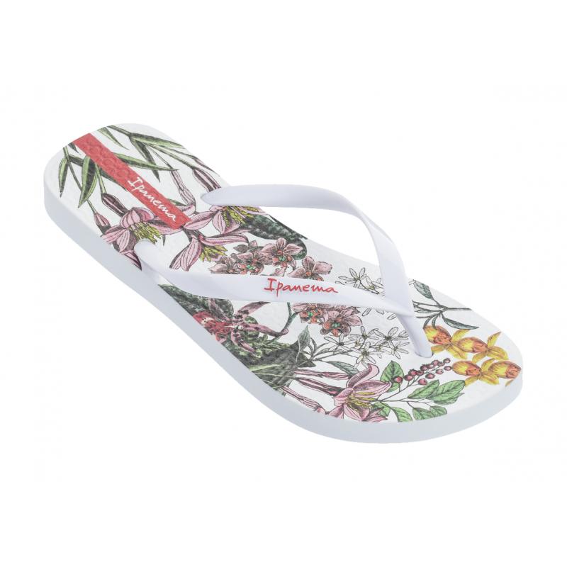 Chinelo Ipanema Sem Igual Botanicals - Branco/Branco (26210)