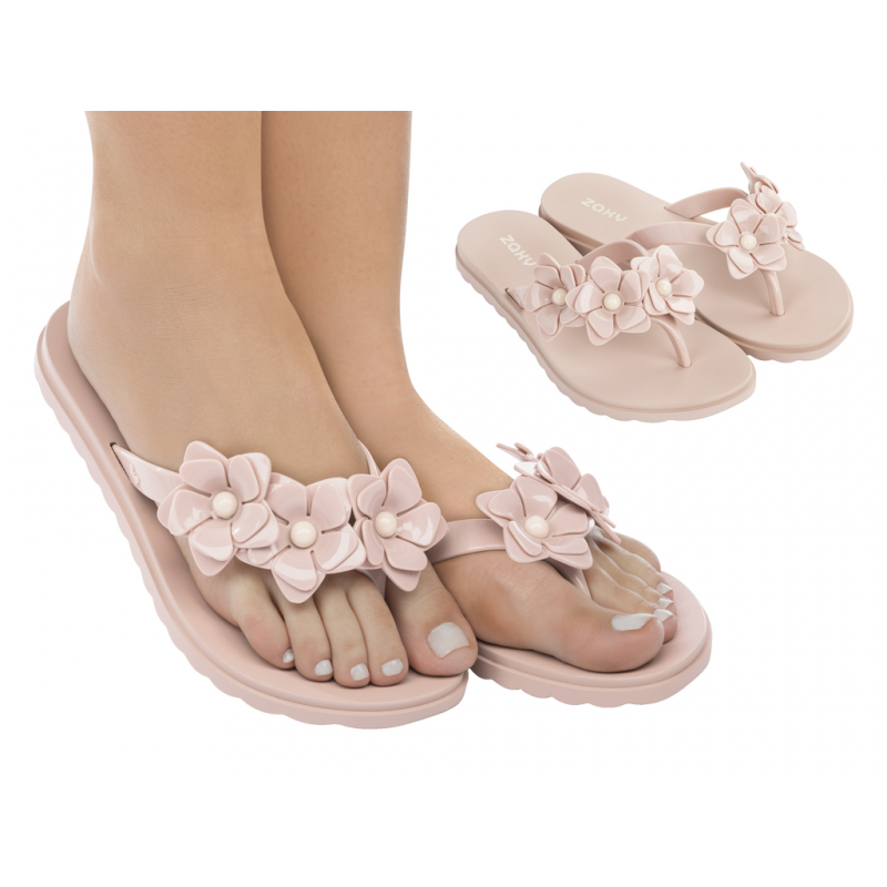 Chinelo Zaxy Fresh Choice Chin AD - Nude (17544)